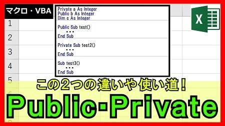【4-17】Public・Privateとは