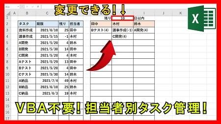 【業務】タスク管理表で期限が短いものを抽出する方法